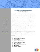 Hpa White Paper   Cancer Center Des...