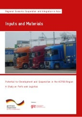 Potential for Development and Cooperation in the ACPBG Region: A Study on Ports and Logistics