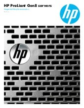Hp Gen8 - Integrated lifecycle aut...