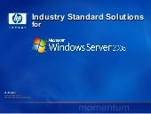Hp Industry Standard Solutions For ...