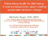 Rebranding Health as Well-Being with Michelle Segar