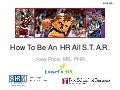 How to be an HR All-Star