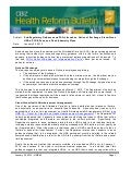 Health Reform Bulletin: FAQs Issued on Notice of Exchange, Stand-Alone HRAs, PCOR Fees and Fixed Indemnity Plans