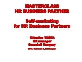HR Business Partners - marketing yo...