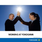 Working at Yokogawa