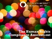 Human Rights Compliance Assessment ...