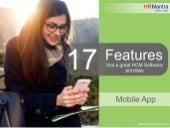 17 Features that a great Mobile HCM App provides