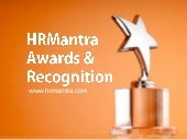 HRMantra Awards & Recognition