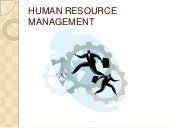 Introduction to human resource mana...