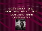 Are you stressed???