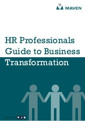 Hr professionals guide to business ...