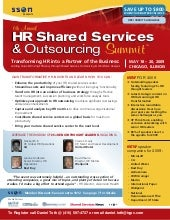HR Shared Services & Outsourcin...