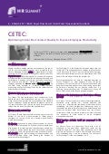 CETEC: Optimising Indoor Environment Quality to Improve Employee Productivity