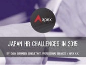 Japan HR Challenges in 2015