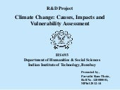 Climate Change: Causes, Impacts and...
