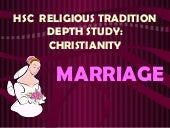 Marriage in the Christian Tradition