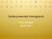 Info on Undocumented Immigrants