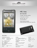 HTC Aria Unlocked: Price, Reviews, Specification : Cellhut.com