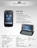 Htc tilt2 unlocked gsm cell phone