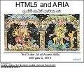 HTML5 and ARIA accessibility - Bangalore 2013