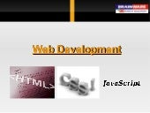 Web Development using HTML & CSS