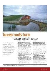 Green Roofs turn Cities Upside Down