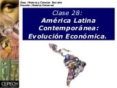 Hu 28 A. Lat. Contemp. Evolucion Ec...