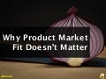 GROW2012 - Why Product Doesn't Matter - Sales and Marketing Do - David Cancel Hubspot