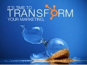 HubSpot Marketing Transformation Fi...