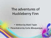 Huckleberry Finn - Brief presentati...