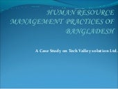 Human resource management practices...