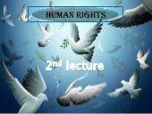 Human rights 2nd lecture