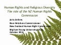 Human rights and religious diversity