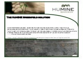 HuMINE Greenfield Solution
