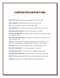 Humorous contracting definitions