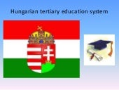 Hungarian tertiary educational syst...
