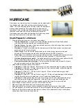 Hurricane factsheet