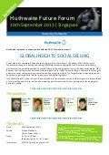 Huthwaite Future Forum on Social Selling - Singapore (100913)