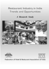 Hvs   restaurant industry in india ...