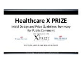 Healthcare X PRIZE - Executive Summary