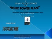 Hydro Power Plant -Surya