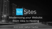 Hy.ly Sites: Beautifully modern website and data-driven back office CRM