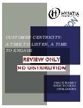 Social Intelligence: A Time to Listen, A Time to Engage Practitioner's Guide Executive Summary