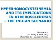 Hyperhomocysteinemia  and its impli...