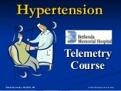 Hypertension - BMH/Tele