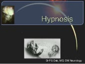 Hypnosis theory and practice