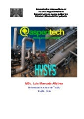 Hysys manual peruano