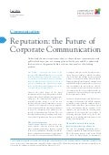 Reputation: the future of corporate communication