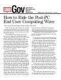 Analyst Report : How to Ride the Post-PC End User Computing Wave