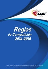 Iaaf competition rules 2014 2015 (e...
